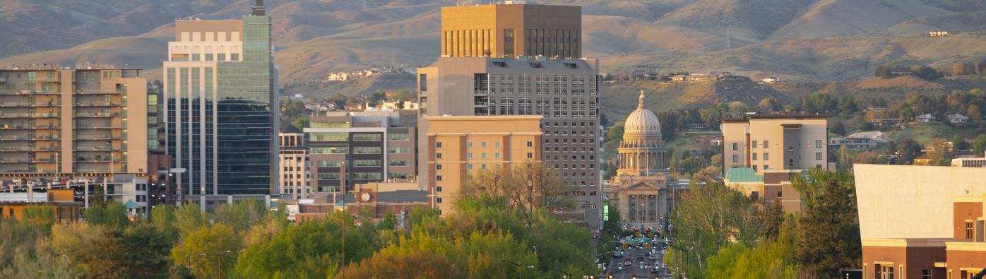 boise Idaho cityscape